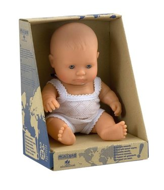 Miniland Miniland babypop europese jongen