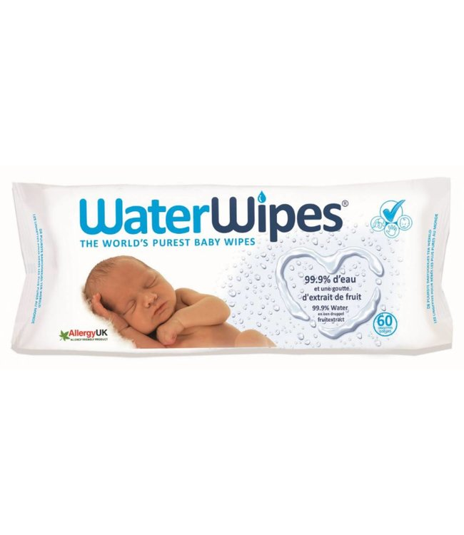 Waterwipes Waterwipes  60 pièces