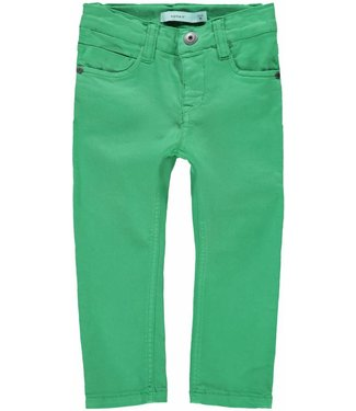 Name-it Name it boys green jeans pants THEO TWIDAM