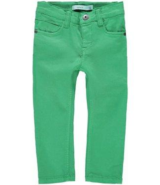 Name-it Nommez-le pantalon en jean vert THEO TWIDAM