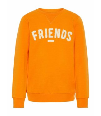 Name-it Name it jongens sweater TABOY Sun Orange