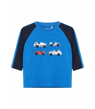 Name-it Name it boys tshirt TEMON Strong Blue