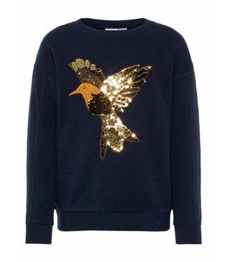 Name-it Name it girls sweater BIRNA Dark Sapphire