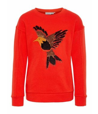 Name-it Nommez-le pull fille BIRNA Tomate Cerise