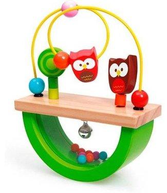 Scratch Scratch balance game Owl Lou 17cm
