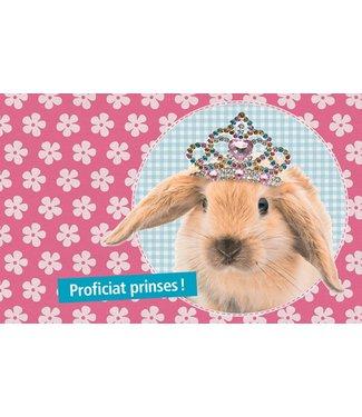 Leukekaartjes Carte de voeux - félicitations princesse