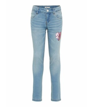 Name-it Name it jeans SALLI Dnmtonja Light blue denim