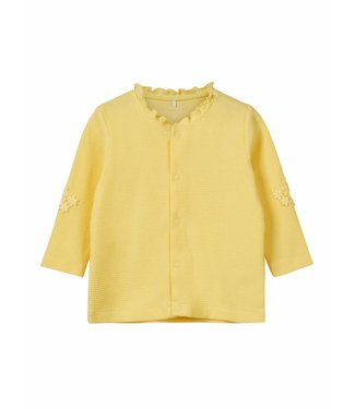 Name-it Name it yellow cardigan BONNY