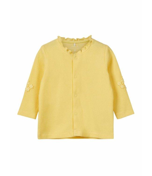 Name-it Name it yellow cardigan BONNY