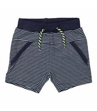 Dirkje kinderkleding Dirkje jongens short navy stripe