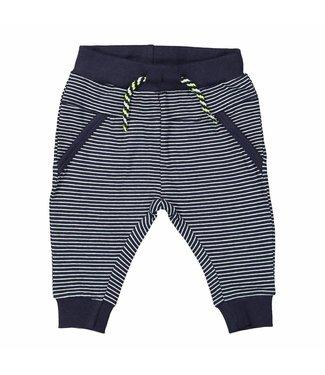 Dirkje kinderkleding Dirkje boys pants navy stripe