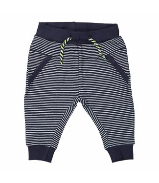 Dirkje kinderkleding Dirkje jongens broek navy stripe