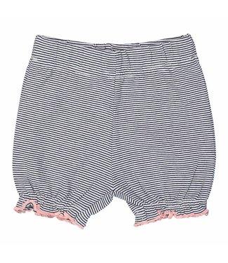 Dirkje kinderkleding Dirkje meisjes short Navy stripe