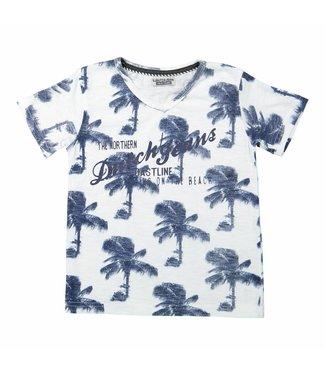 Dj Dutchjeans Dj dutchjeans jongens tshirt palmbomen