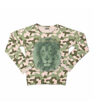 Dj Dutchjeans Dj dutchjeans meisjes sweater Army