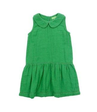 Lily Balou Lily Balou Gitta Dress Muslin Grass Green