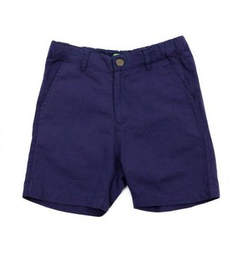 Lily Balou Lily Balou Astor Shorts Cotton Twill Gentian Blue