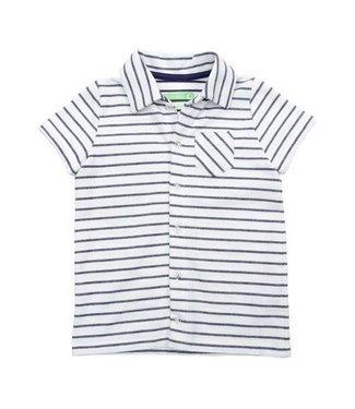 Lily Balou Lily Balou Jonathan Shirt Striped Gentian Blue