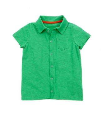 Lily Balou Lily Balou Jonathan Shirt Slub Jersey Grass Green