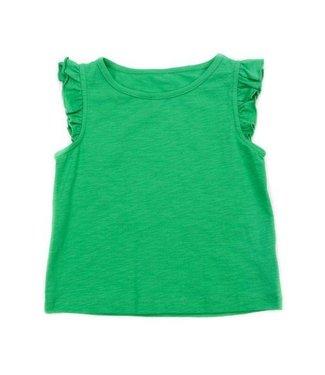 Lily Balou Lily Balou Eline Top Slub Jersey Herbe Vert
