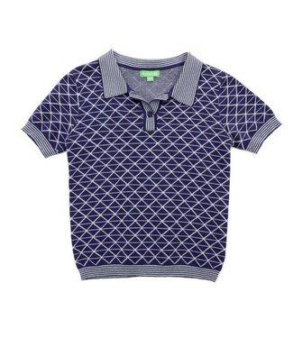 Lily Balou Lily Balou Gilles Polo Knitwear Gentian Blue