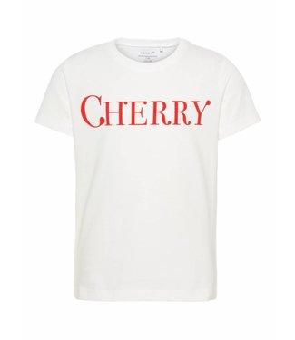 Name-it Name it girls tshirt Dunya Bright white