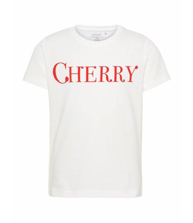 Name-it Name it meisjes tshirt Dunya Bright white