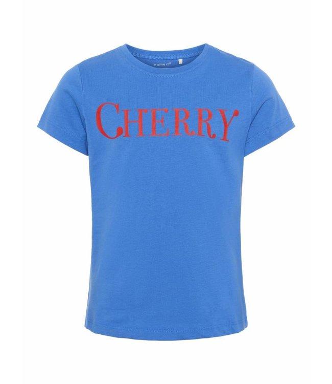 Name-it Name it girls tshirt Dunya Strong Blue