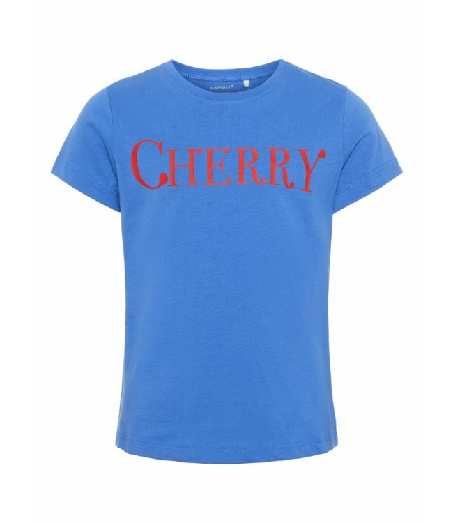 Name-it Name it meisjes tshirt Dunya Strong Blue