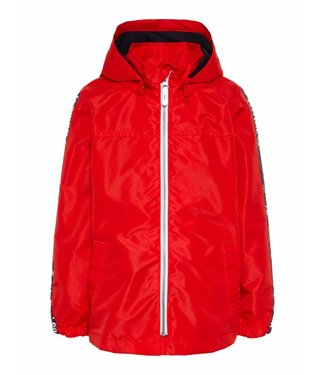 Name-it Name it boys mini jacket Mellon sleeve text