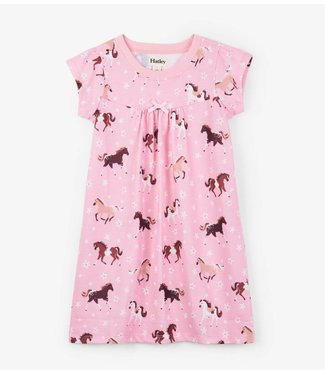 Hatley Hatley nightgown Frolicking Horses