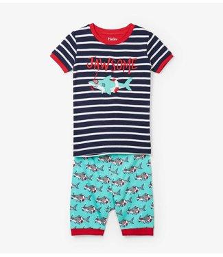 Hatley Hatley boys pajamas Snorkeling Sharks