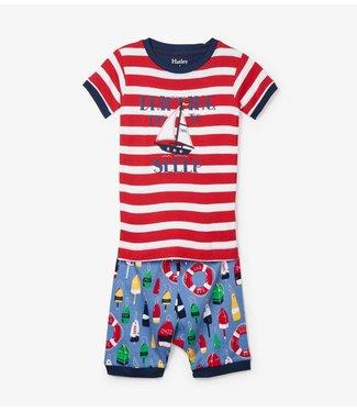 Hatley Hatley boys pajamas Distressed Buoys