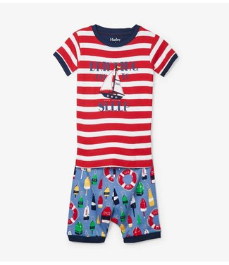 Hatley Hatley jongens pyjama Distressed Buoys