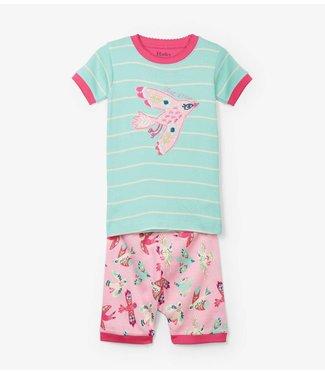 Hatley Hatley girls pajamas Soaring Birdies