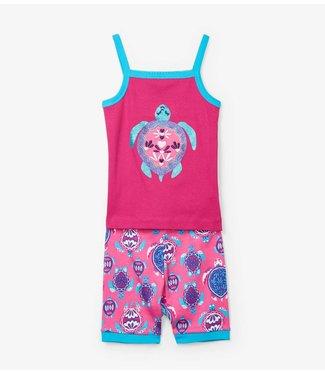 Hatley Hatley girls pajamas Pretty Sea Turtles