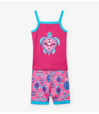 Hatley Hatley meisjes pyjama Pretty Sea Turtles