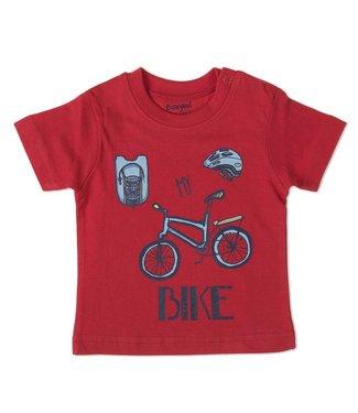Babybol Tshirt rouge poupée bébé Mon vélo