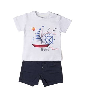 Babybol Babybol boys 2 piece set -summer sailing