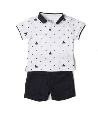 Babybol Babybol boys 2 piece set - sailboats