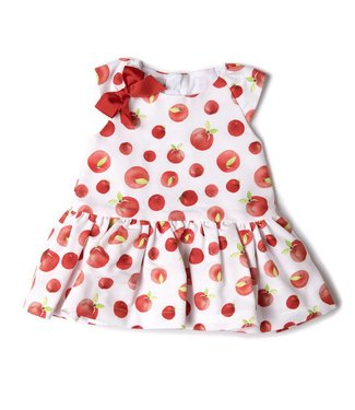 Babybol Babybol  girls dress apples