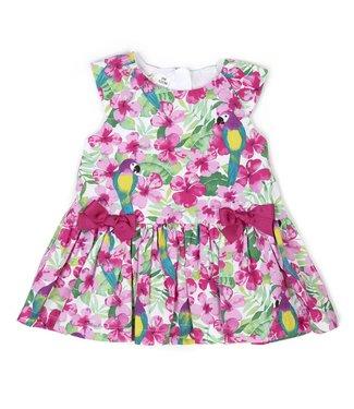 Babybol Bébé fille poupée robe perroquet