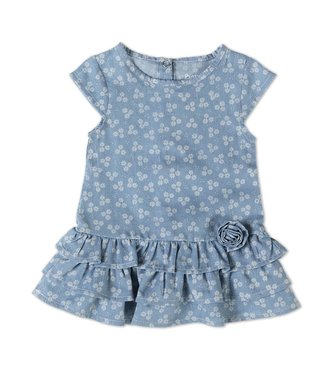 Babybol Jeans de robe à fleurs avec jean
