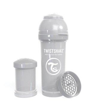 Twistshake Biberon anti-colique TwistShake 260ml - Gris pastel