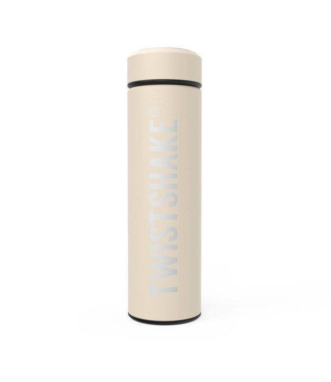 Twistshake Thermosfles Twistshake Pastel beige