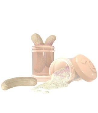 Twistshake TwistShake doseer doosje 2 x 100 ml - pastel beige