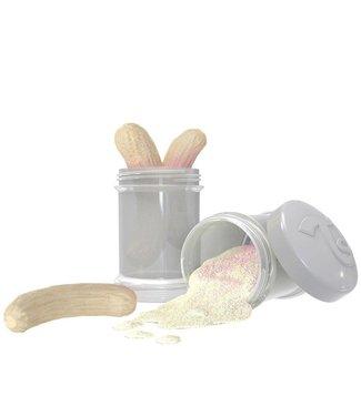 Twistshake TwistShake doseer doosje 2 x 100 ml - pastel grijs