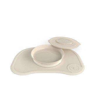 Twistshake Twistshake Click Mat + plate Pastel Beige