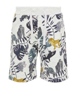 Name-it Name it boys sweat shorts Fabian Gray Melange