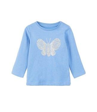 Name-it Name it girls tshirt Fabiana Blue Bonnet